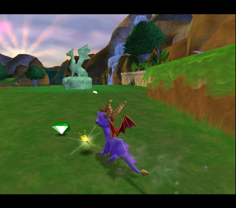 Spyro: Enter the Dragonfly gameplay Dragon Realms