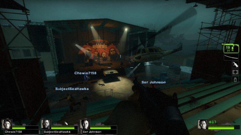 Left 4 Dead 2 gameplay Dark Carnival