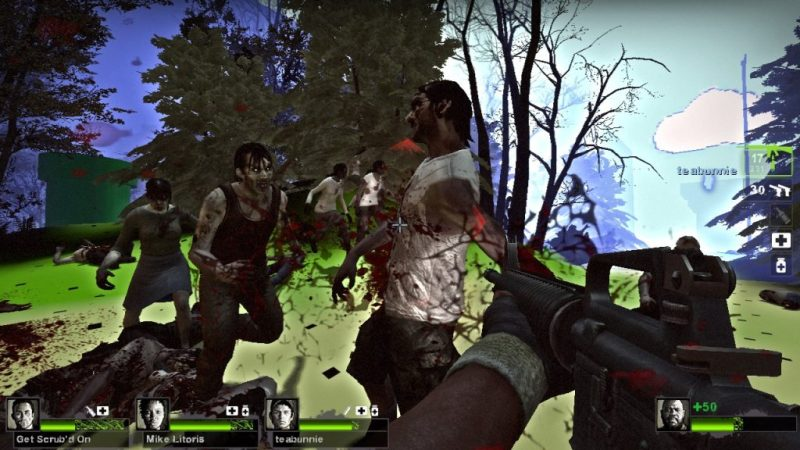 Left 4 Dead 2 gameplay Super Mario custom campaign