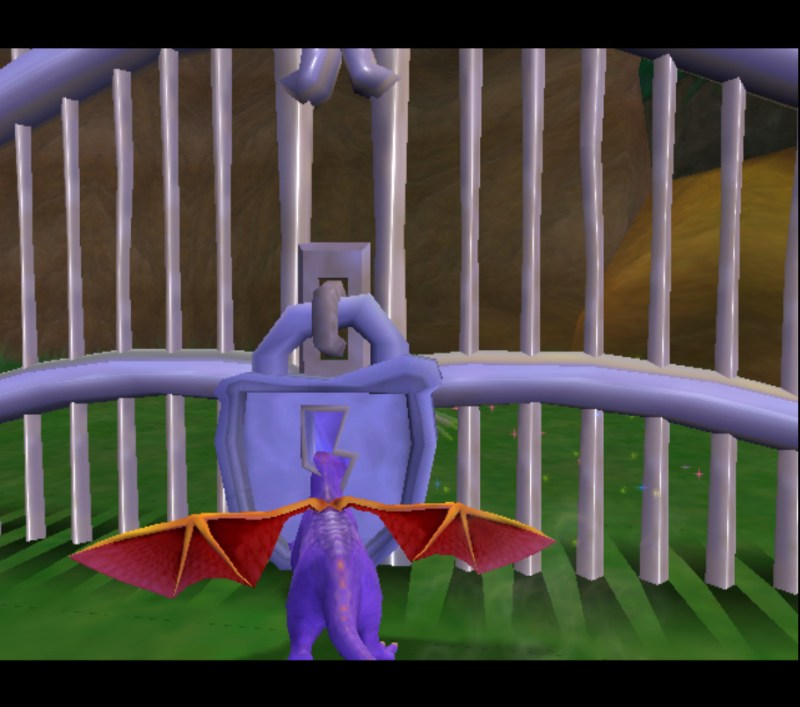 Spyro: Enter the Dragonfly gate glitch