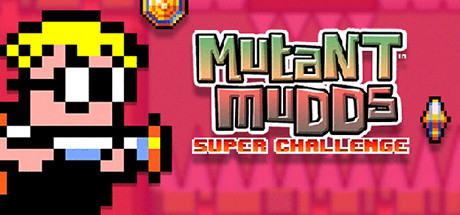 Mutant Mudds Super Challenge steam banner