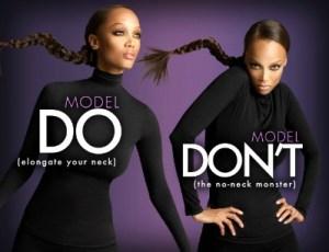 Tyra Banks Modeling poses tips