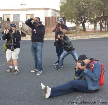 Photography Workshop model's pov
