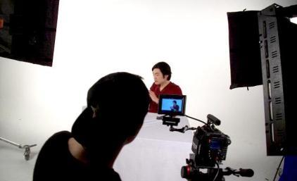 food commercial jun top model eating behind the scenes