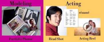 modeling acting portfolio difference breaking into modeling