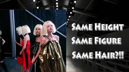 runway models look the same during fashion week