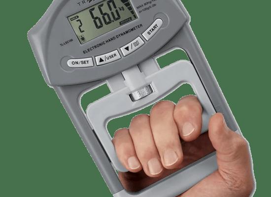 Um dinamómetro de mão é uma forma simples e eficaz de determinar a variação da força de preensão manual. Através disto é possível averiguar sintomas de sobretreino.