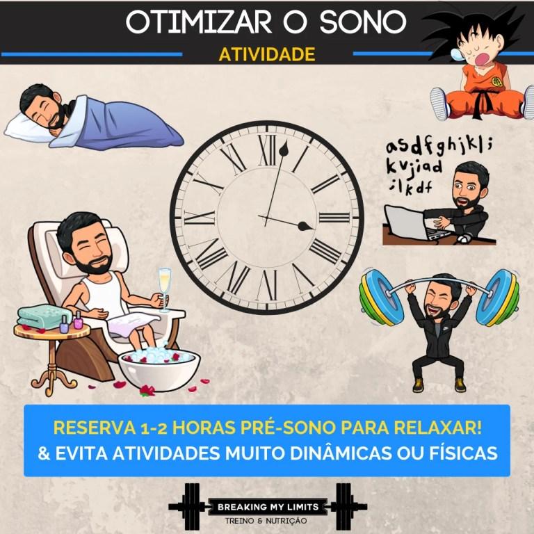 Guardar horas para relaxar no período pré-sono é fundamental para garantir um sono fácil de iniciar e regenerador!