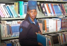 Photo of Security Guard By Day,Student In The Evening;Officer Cherono Tells It All