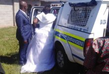 Photo of Couple Arrested on Wedding Day Disregarding Social Distancing Rules
