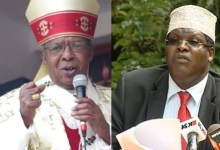 Photo of Miguna Miguna Threatens To Reveal Cardinal John Njue's 'Wives'