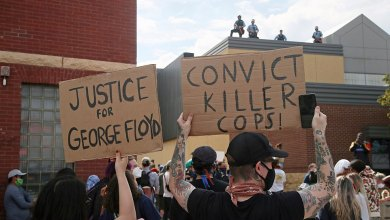 Photo of Minneapolis Protest Over George Floyd Death Turns Violent