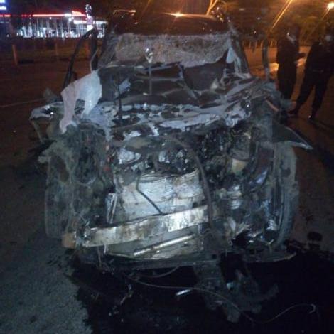 Allan Makaka accident