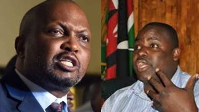 "Photo of ""Pambana Na Hali Yako!!"" George Aladwa Hits Hard On Moses Kuria After Latter's Belittling Sentiments"