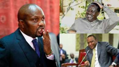 Photo of Moses Kuria Scolds Uhuru and Raila Odinga – Video