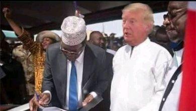 "Photo of Miguna Miguna Offers To Swear Donald Trump As America's ""People's President"""