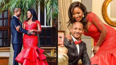 Photo of Fridah Muthoni pampers hubby Babu Owino with love, praises