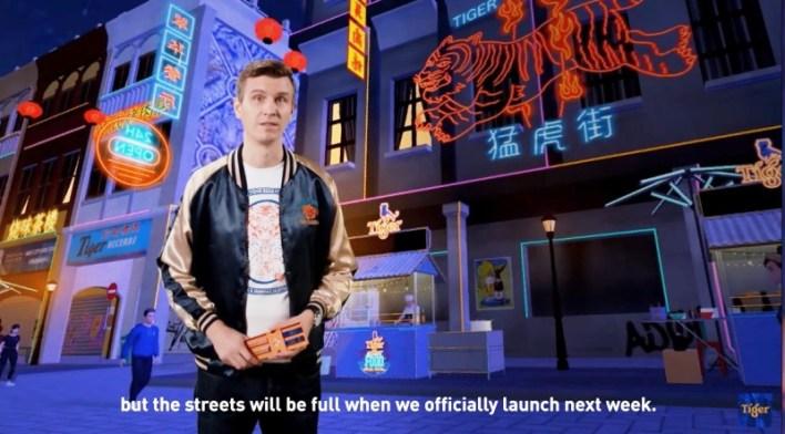 Tiger虚拟街头美食节(Tiger Street Food)将于2020年11月6日(周五)晚上11点开幕,并且在11月份的每周五、周六和周日上午11点至晚上9点开业,直至11月底。这场美食节不仅仅是提供外卖点餐服务,它将打造一个虚拟世界,给予人们犹如参加美食嘉年华的真实体验。