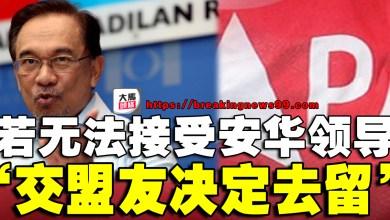 Photo of 安华:若无法接受我继续领导希盟 交盟友决定去留
