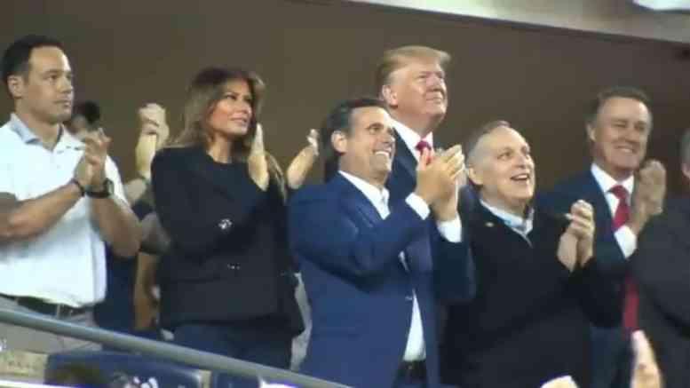 Trump Booed At World Series