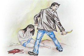 Illustration of a rape