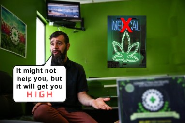 medical marijuana -NOT- www.breakingthecode.ca