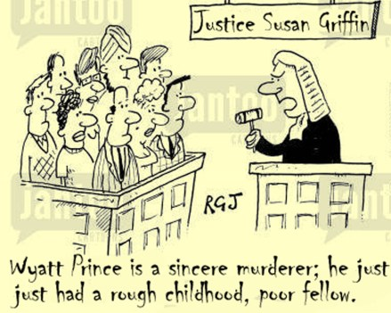 Justice Susan Griffin shows her bleeding heart