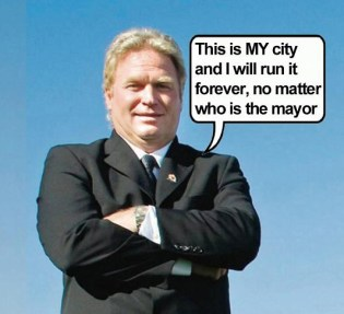 Mayor-Stew-Young-I-run-Gangford-no-matter-who-is-acting-mayor by Hal Hannon.jpg