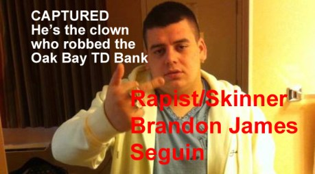 Brandon Seguin, rapist and fool