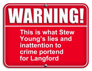Stew Young's policies bring crime to Langford