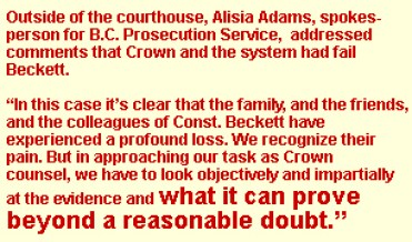 Crown Statement, About Sarah Beckett