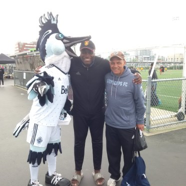 Ray Goldenchild Hanging with the Whitecaps