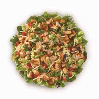 Healthy Fast Food Options-Wendy's Chicken Salad