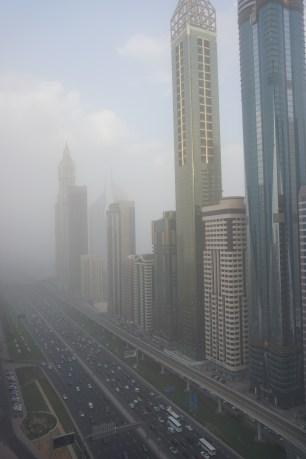 Emirates Towers in view