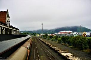 The railway lines