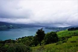 The breathtaking scenic drive towards the castle
