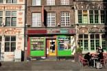 Un magasin dans le centre de Gand