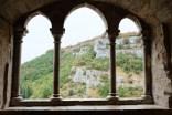 Rocamadour, village français mondialement situé connu dans le Lot
