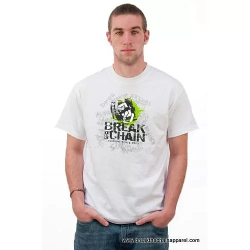 Break the Chain's Logo White T-Shirt