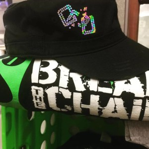 Break the Chain Military Hat - Bling Style