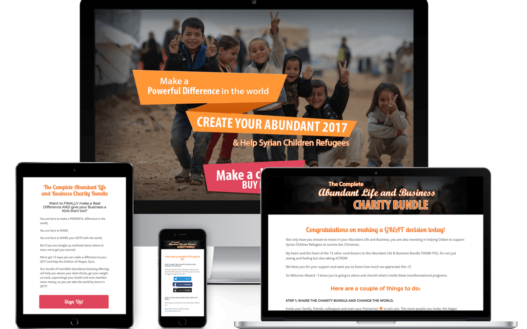 The Abundant Life & Business Charity Bundle