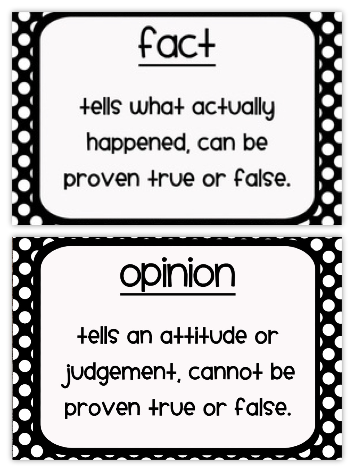 Worksheet On Fact And Opinion
