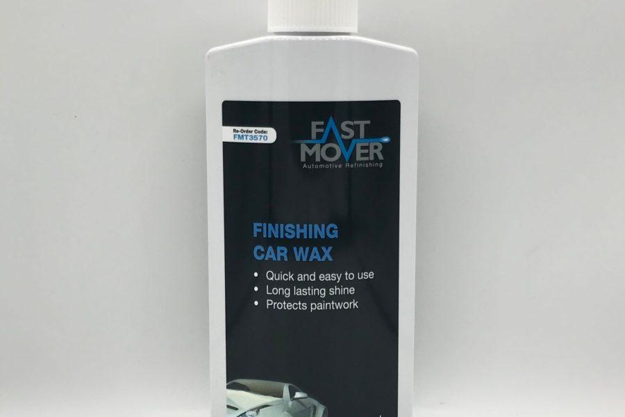 finishing car wax