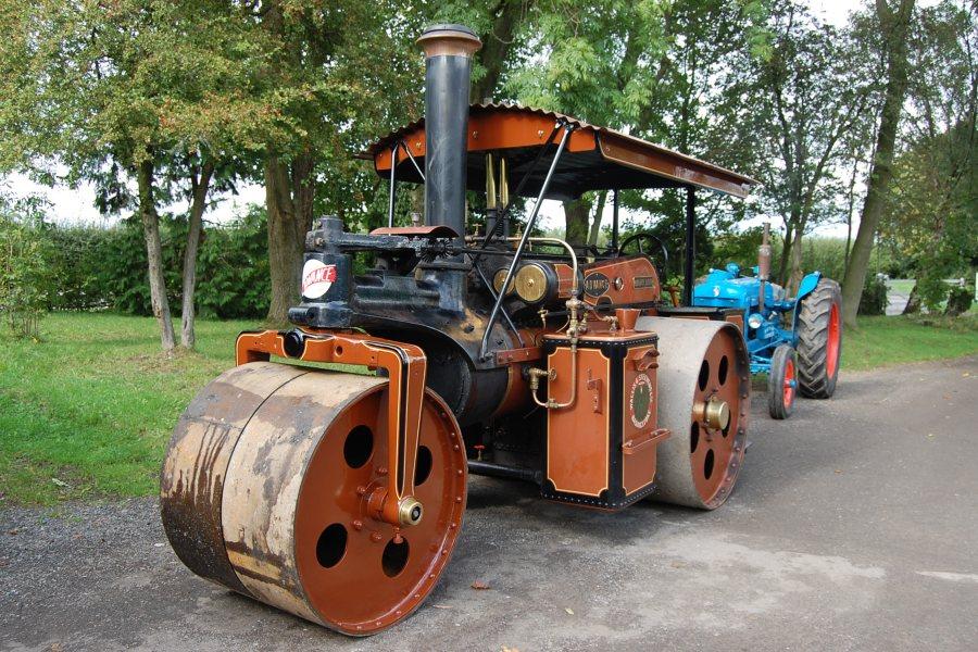 Heritage Steamroller