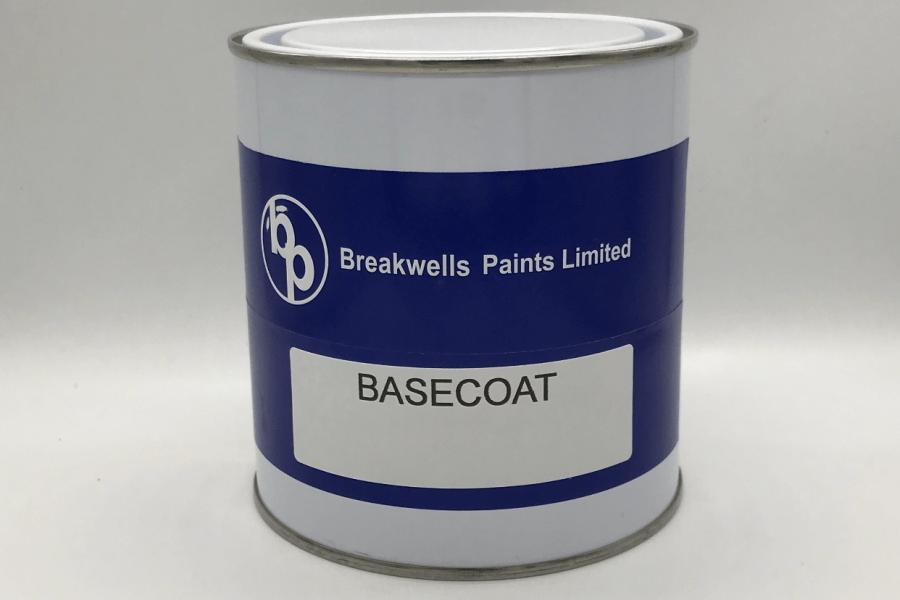 Industrial basecoat