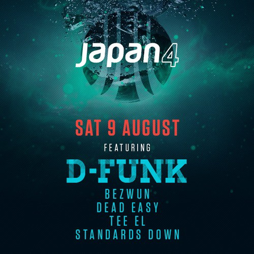 D-Funk - Promo Mix For Japan 4
