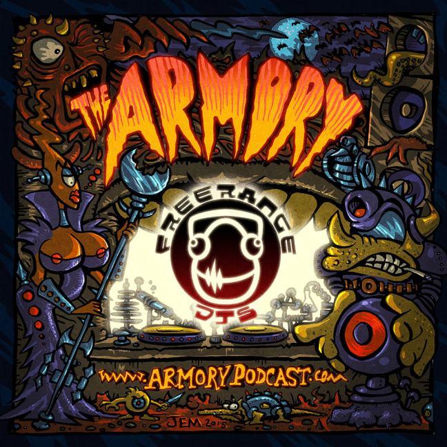 Freerange DJs - The Armory Podcast 111