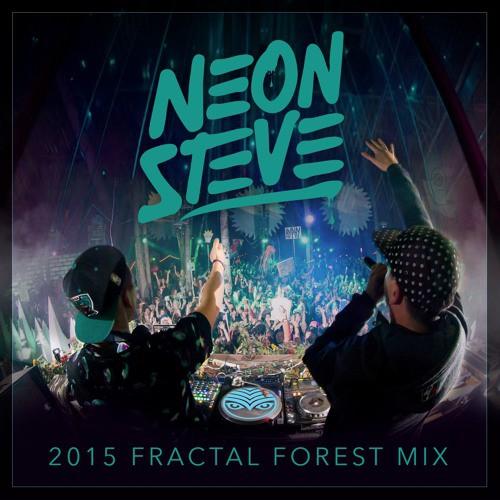 Neon Steve - Shambhala Fractal Forest Mix 2015