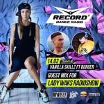 Vanilla Skillz Ft Burger – Guest Mix For Lady Waks Radio Record – 14.2.2017