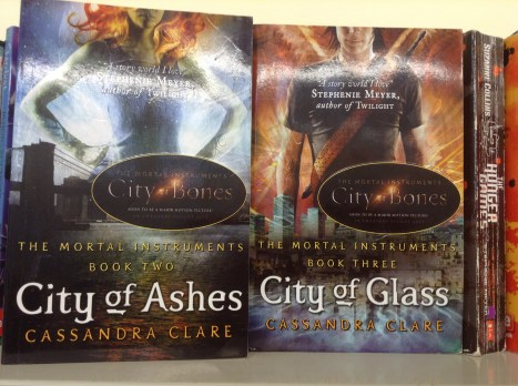 City of Ashes (Book Two), City of Glass (Book Three) by Cassandra Clare